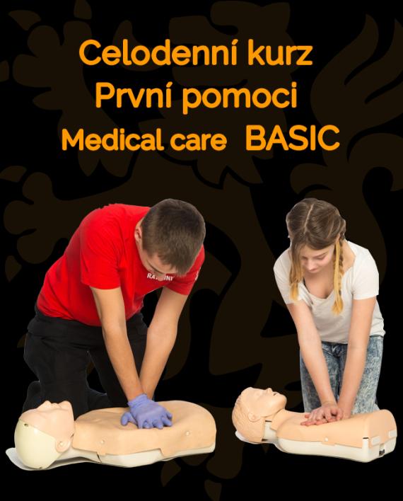 Ikonka kurzu Celodenní kurz první pomoci BASIC