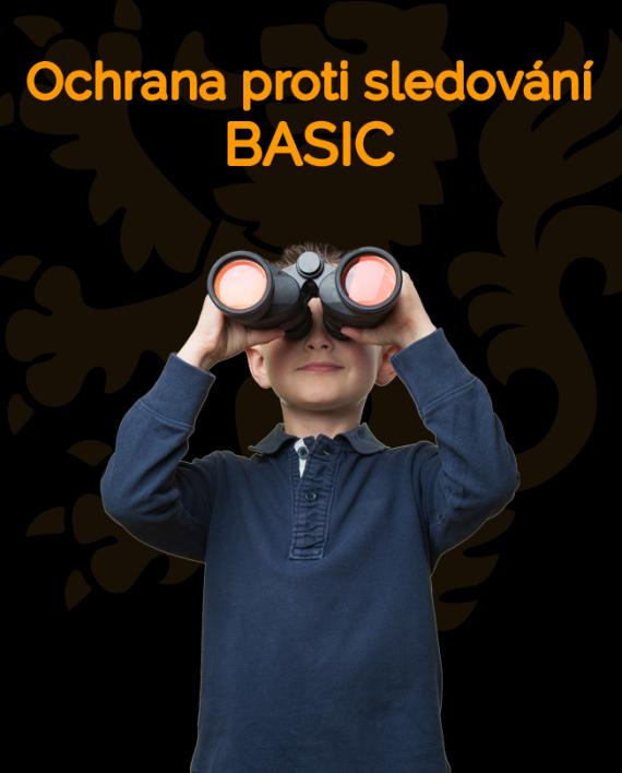 Ikonka Ochrana proti sledování BASIC