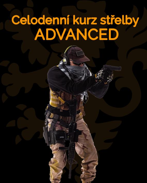 Ikonka celodenní kurz střelby ADVANCED